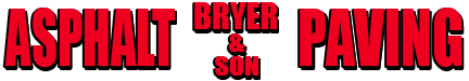 Bryer & Son Asphalt Paving logo